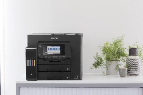 Multifunctional inkjet color CISS Epson L6550