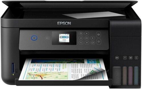 Multifunctional inkjet color Epson EcoTank CISS L4160