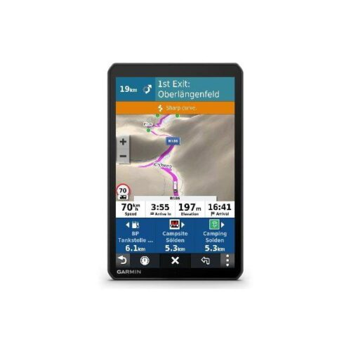 "Garmin GPS Camper 890 8"" Live Traffic"