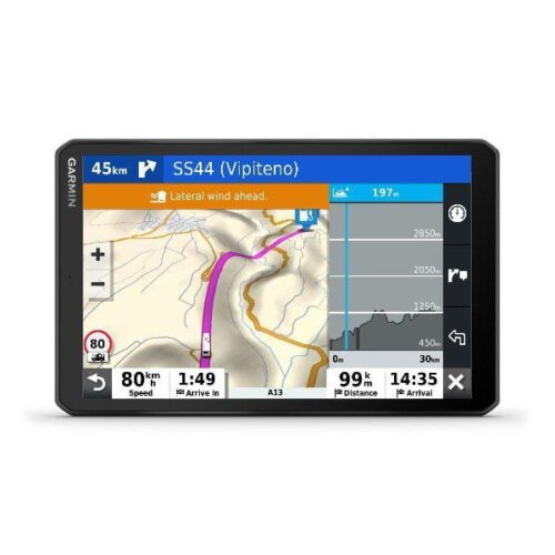 "Garmin GPS Camper 890 8"" Live Traffic  Navigator de"