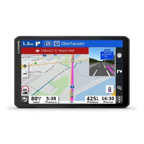 Garmin GPS Dezl LGV800 Dispozitiv sat-nav de 8 inci pentru