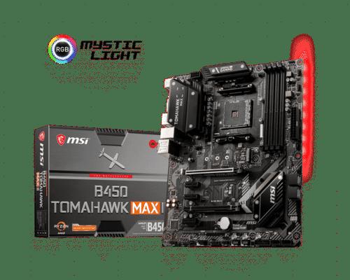 Placa de baza MSI MSI B450 TOMAHAWK MAX II AM4