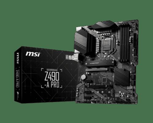 Placa de baza MSI Z490-A PRO LGA 1200