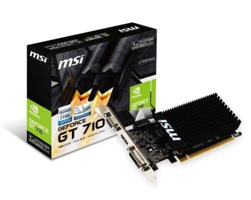 Placa video MSI nVidia GT710 1GD3H LP