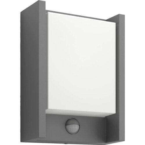 Aplica LED integrat de exterior Philips Arbour myGarden cu senzor
