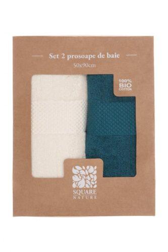 SET 2 PROSOAPE BAIE 50X90 CM - BLUE MIX Square