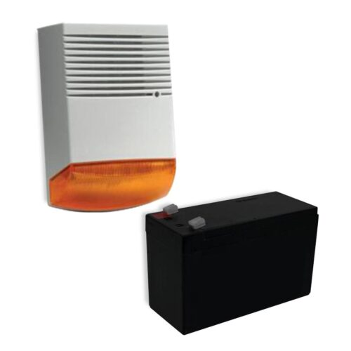 Kit bax sirena exterior BS-OS359 X 1 BUC si acumulator