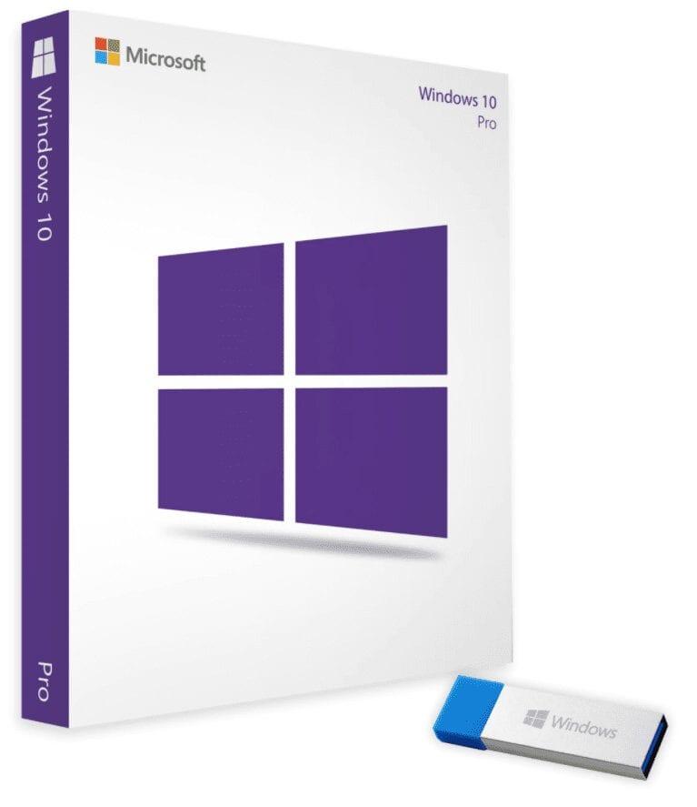 Licenta retail Microsoft Windows 10 Pro 32-bit/64-bit English USB P2