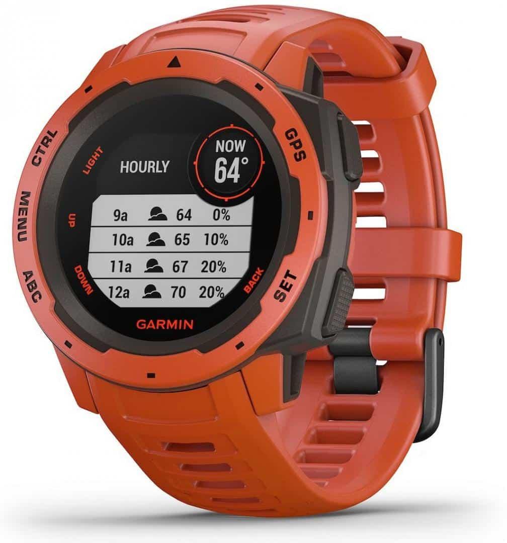 GPS Watch Garmin FLAME RED