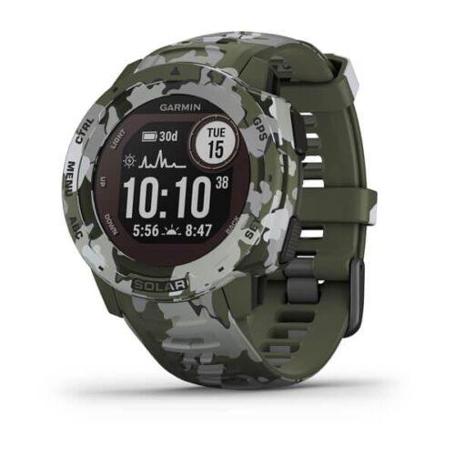 Smartwatch Garmin Instinct Solar Camo Edition GPS Watch Lichen Camo