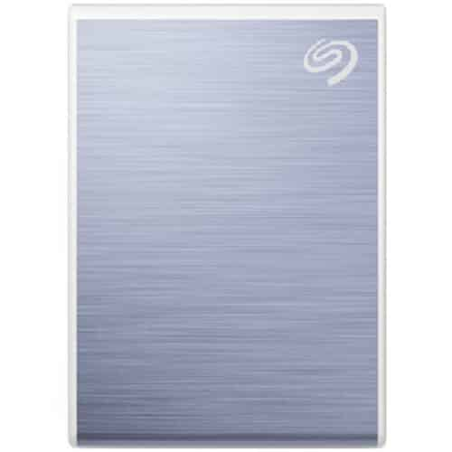 SSD Extern Seagate One Touch, 500GB, USB 3.2 Gen 2 Type-C, Albastru