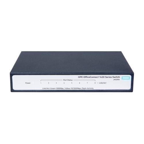 HPE Switch 1410 8 porturi Gigabit porturi Layer 2 unmanaged