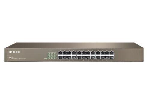 IP-COM 24-Port Fast Ethernet 10/100Mbps Racmount Switch
