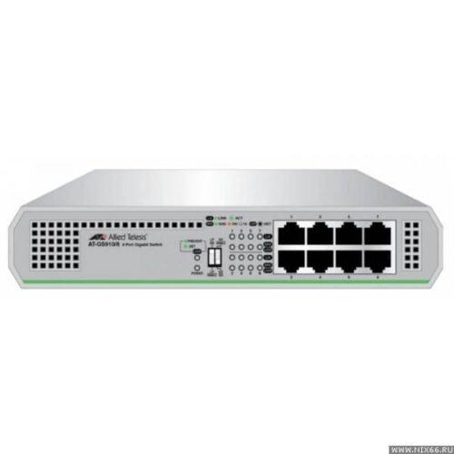 Switch ALLIED TELESIS 910 8 porturi Gigabit Layer 2