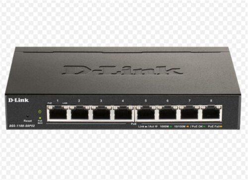 Switch D-Link DGS-1100-08V2