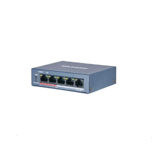 Switch POE 4 porturi Hikvision DS-3E0105P-E/M(B)