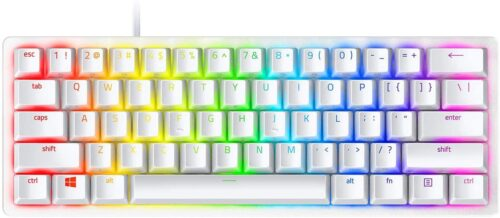 Tastatura Razer Razer Huntsman Mini - Mercury Edition - 60%