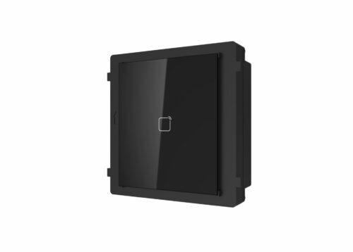 Modul cititor de card Mifare pentru videointerfon modular Hikvision DS-KD-M;