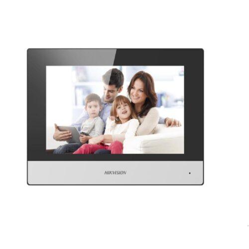 "Monitor videointerfon modular 7"" color Hikvision DS-KH6320-TE1; ecran LCD 7"""