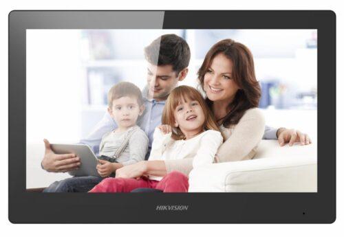"Monitor videointerfon WIFI modular 10"" color Hikvision DS-KH8520-WTE1/EU; ecran LCD"