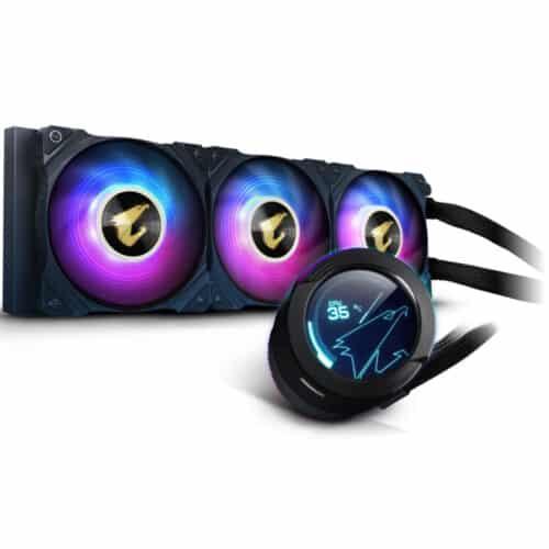 Cooler procesor Gigabyte AORUS WATERFORCE X 360, LCD Display, RGB Fusion