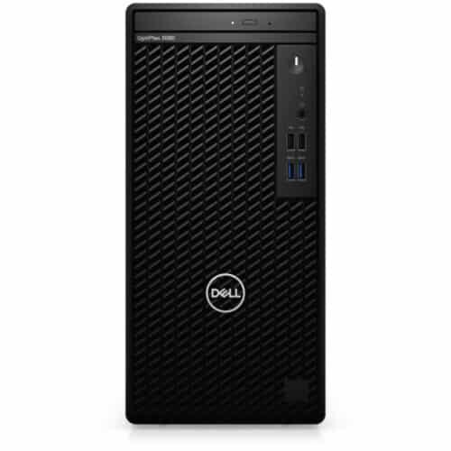 Desktop PC Dell OptiPlex 3080 MT, i5-10505, 4.50 GHz, 8GB DDR4, 256GB SSD M.2, Intel Integrated Graphics, Mouse + Tastatura