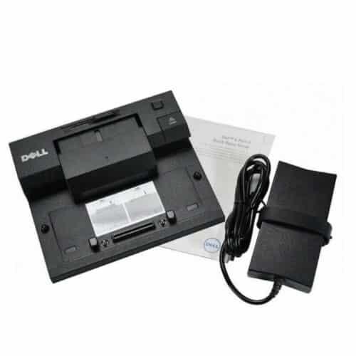 Docking Station Dell Simple E-Port II PR03X USB 3.0 + Alimentator 130W