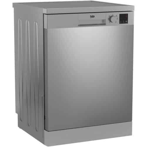 Masina de spalat vase Beko DVN06430X, 14 seturi, 6 programe, Clasa D, Automatic Door Opening, 60 cm, Inox