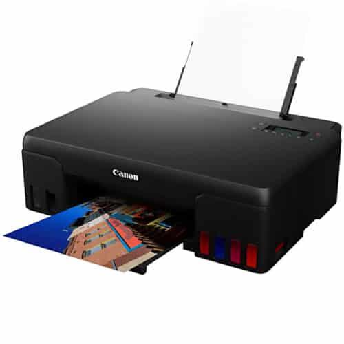 Multifunctional inkjet color CISS Canon Pixma G640, 3.9 ppm alb-negru, USB, Wi-Fi