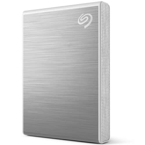 SSD Extern Seagate One Touch, 1TB, USB 3.2 Gen 2 Type-C, Argintiu