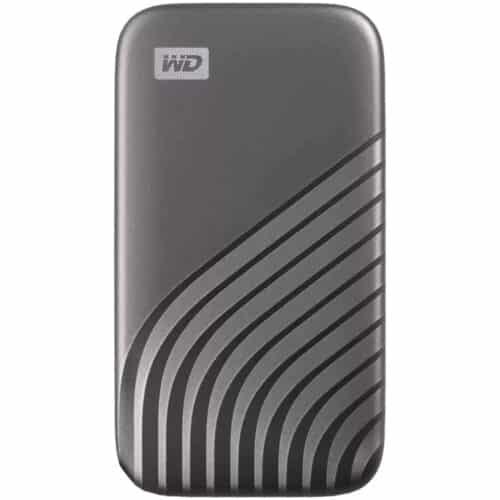 SSD Extern WD My Passport 4TB, USB 3.2 Gen2 Type-C/A, NVMe, Space Gray