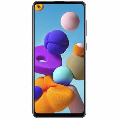 Telefon mobil Samsung Galaxy A21s, A217F, Dual SIM, 32GB, 3GB RAM, 4G, Black