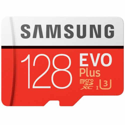 Card de memorie Samsung MicroSDXC EVO Plus, 128GB, Clasa 10 + Adaptor SD