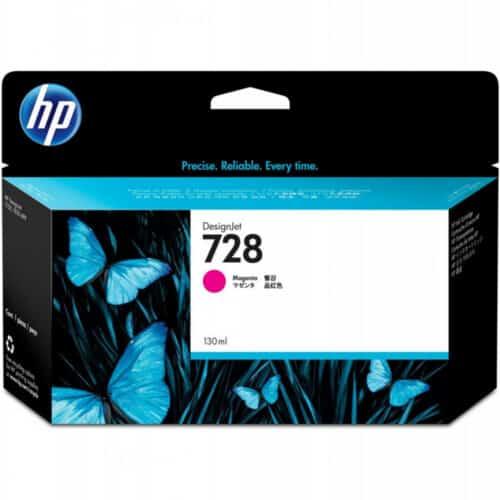 Cartus cerneala HP 728, F9J66A, 130 ml, DesignJet Ink, Magenta
