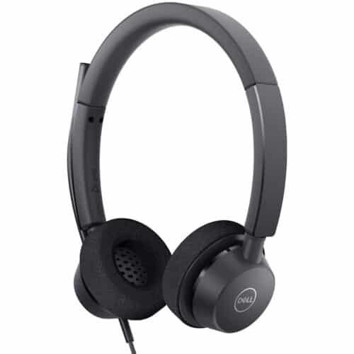 Casti Dell Pro Stereo Headset WH3022, cu fir, contol volum, USB, Hi-Fi stereo, Zoom Certified