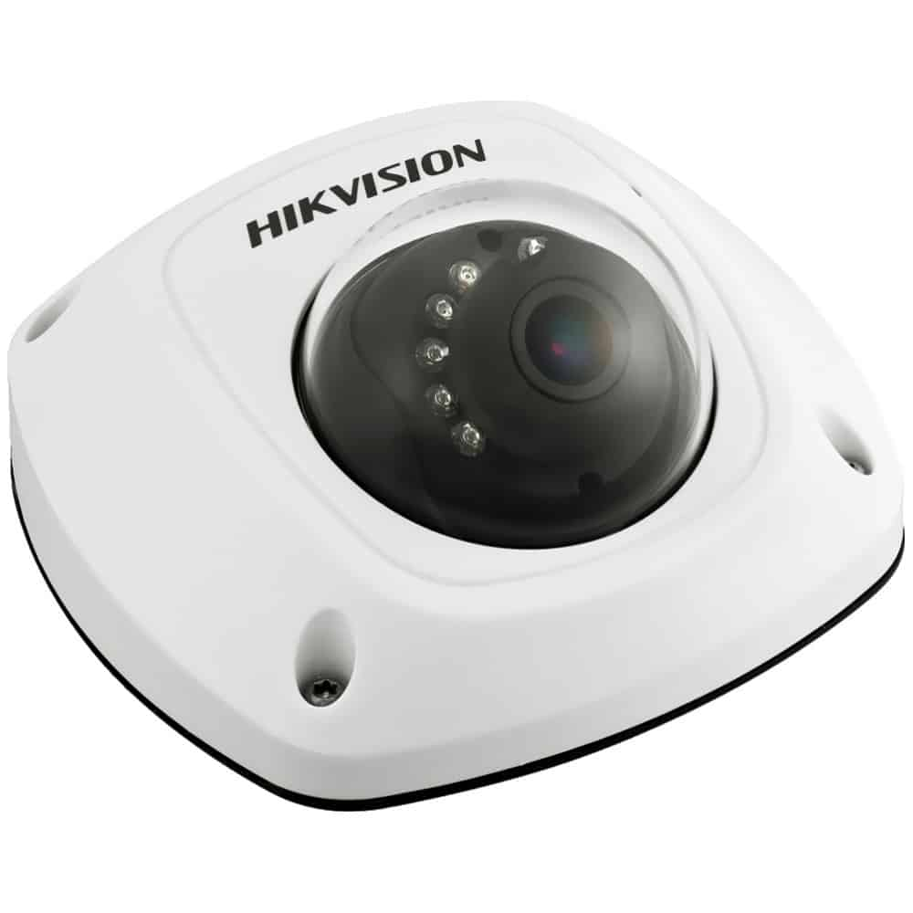 Camera de supraveghere Hikvision Mobile IR camera AE-VC011P-IRS2.8, 2.8mm, IR 20m, microfon, unghi ajustabil - Resigilat