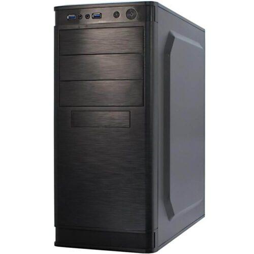 Desktop PC Horizon PCHRZ3I38GBW10P, i3-10110, 256GB SSD, 8GB RAM, Windows 10 Pro, Negru