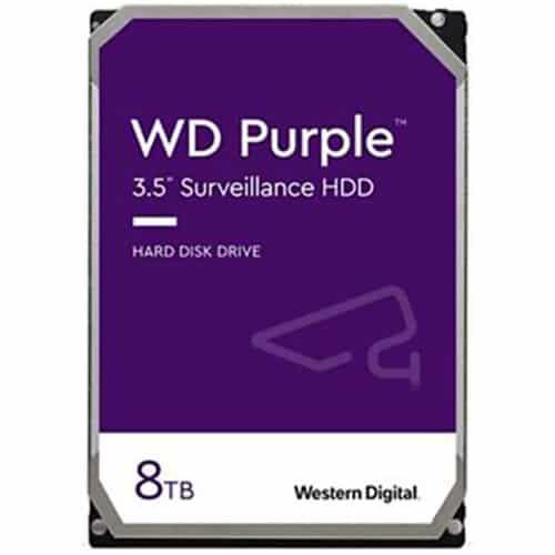 Hard disk WD Purple 8TB SATA III, 5400RPM, 64MB