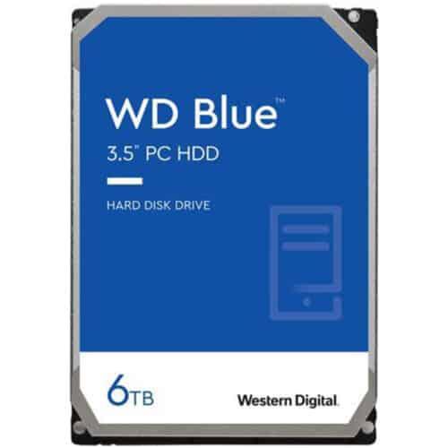 HDD Western Digital Blue 6TB, 256MB Cache, 5400 RPM, Sata III