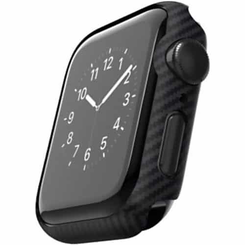 Husa ceas Pitaka Air Case pentru Apple Watch Series 6 / SE / 4 / 5, 40mm, Negru