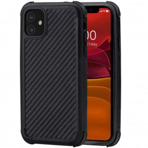 Husa telefon Pitaka MagEZ Case Pro pentru Apple iPhone 11, Negru