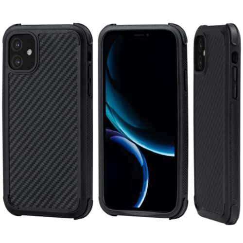 Husa telefon Pitaka MagEZ Case Pro pentru Apple iPhone 11 Pro Max, Negru