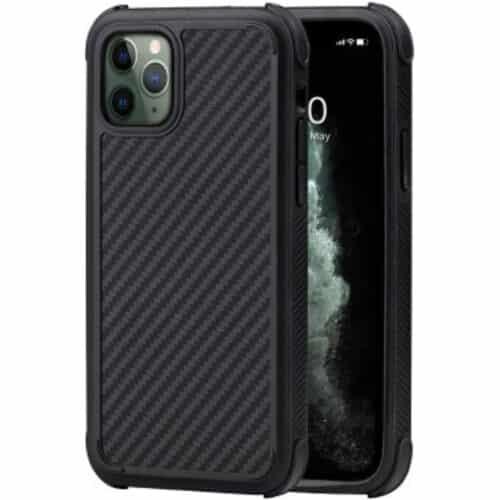 Husa telefon Pitaka MagEZ Case Pro pentru Apple iPhone 11 Pro, Negru