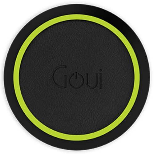 Incarcator Wireless pentru telefon Goui Loop QI, Fast Wireless, 15W, Negru