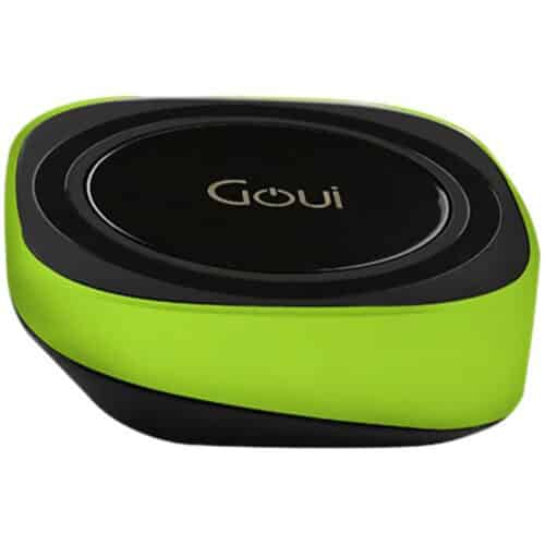 Incarcator Wireless pentru telefon Goui Pad Qi, Fast Wireless, 15W, Negru
