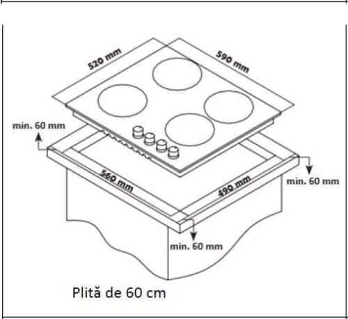 PLITA INCORPORABILA HEINNER HBH-S584I-IX