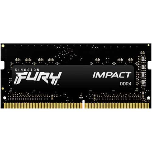 Memorie Laptop Kingston Fury Impact, 8GB DDR4, 2666MHz, CL15