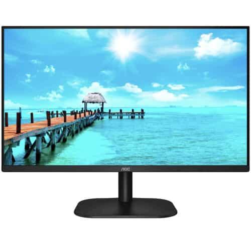 Monitor LED IPS AOC 27'', Full HD, 75Hz, 4ms, HDMI, VGA, 27B2H/EU