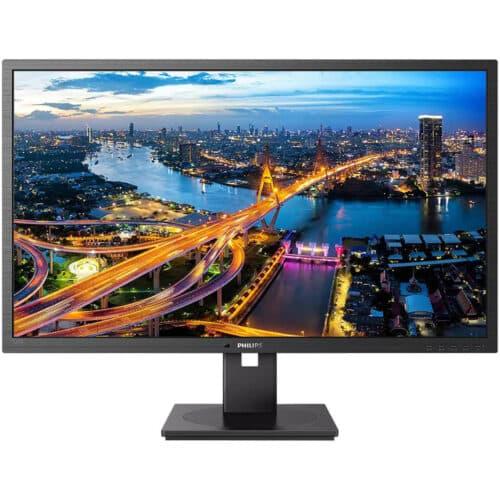 Monitor Philips LED IPS 31.5'' QHD, 4ms, Adaptive Sync, Flicker Free, Pivot, Display Port, HDMI, USB, 325B1L/00