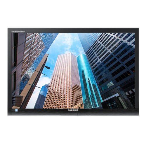 Monitor second hand LED 24 inci Wide Samsung SyncMaster SA450
